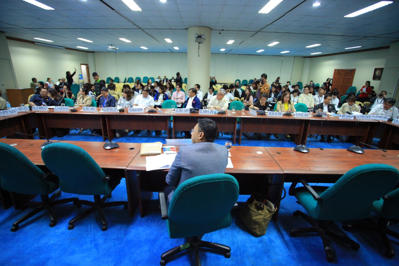 Budget hearing of the DTI