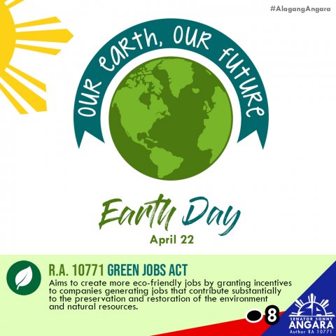 April 22 is Earth Day