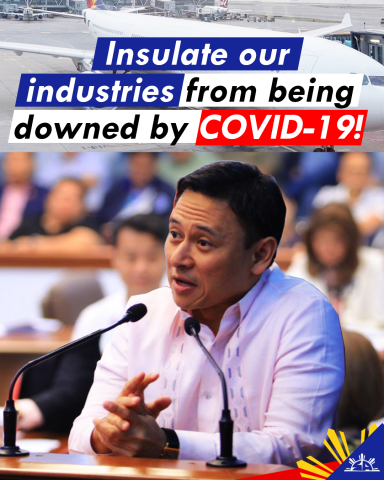 Insulate our industries from being downed by COVID-19