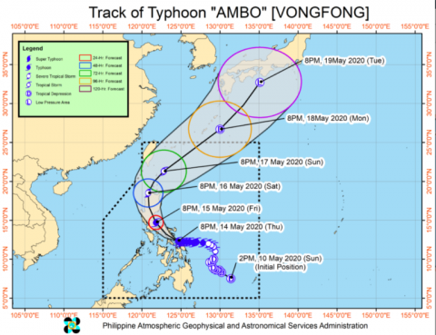 Angara to the LGUs affected by Typhoon Ambo: COVID-19 protocols should still be observed