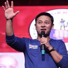 ANGARA URGES MORE SUPPORT FOR ORGANIC FARMERS