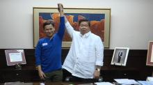 Senator Drilon and Senator Sonny Angara