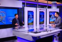 File photo: Senator Sonny Angara interviewed on CNN Sportsdesk