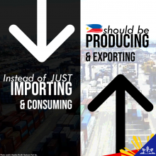 From importing and consuming to producing and exporting
