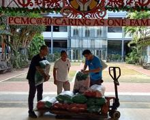 Sen. Sonny Angara donates face masks and other essentials to PCMC