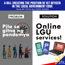 Angara bill seeks to assist LGUs in shifting to digital