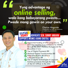 Angara: Ecommerce will help ensure the survival of MSMEs and boost economic growth